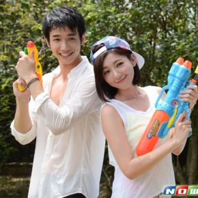 The Cast of Pleasantly Surprised (喜歡. 一個人) Gets Wet For Its Ratings Success