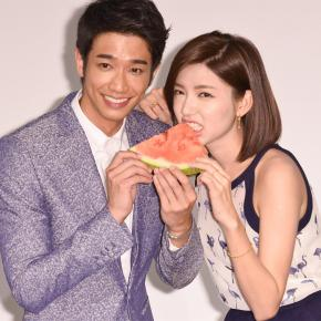 Jasper Liu and Puff Kuo are Adorable for the Fansigning Event of Spop Magazine